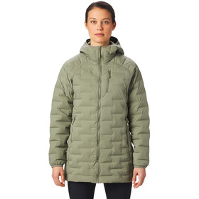 Mountain Hardwear Super/DS Stretchdown Parka Dames, light army